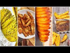 PATATAS al HORNO 😱 4 RECETAS fáciles y originales 😍 - YouTube Original Recipe, Easy, French Toast, Oven, The Originals, Breakfast, Recipes, Food, Youtube