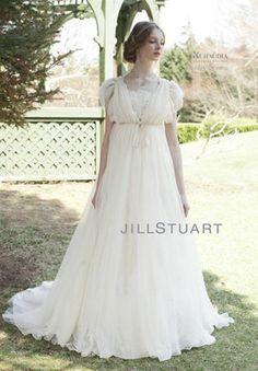 Jill Stuart Wedding Dress....Mr. Darcy would love this