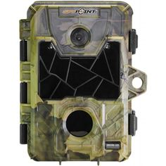 10 MP, HD Invisible LEDs Trail Cam, CamoManufacture ID: Spy Point captures color photos by day (black-and-white by night) an Perfect Camera, Trail Camera, Camping And Hiking, Hiking Equipment, Led, Hd Video, Hunting, Black And White, Iron