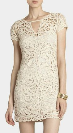 Lalinda Lace Crochet Dress