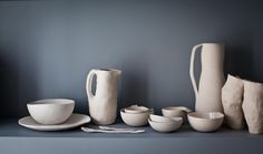 Anna westerlund handmade ceramics WATERMELON collection. Photo credit Sanda Pagaimo