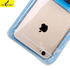 TRAVELSKY Vodotěsný Touch Screen pouzdro pro iPhone 6s   6Plus SamsungS5    S6 OPPO R7   9cfbdb0292d