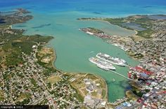 St Johns Antigua, Port. We'll be making a stop here!