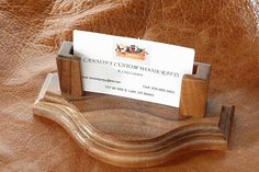 Wooden business card holder - Business cards began to be used for the first time in China in the fifteenth century but its. Wooden Business Card Holder, Business Cards, Mobile Shop, Desk Set, Love To Shop, Woodworking Projects Plans, Good Company, Diy Desk, Tea Lights