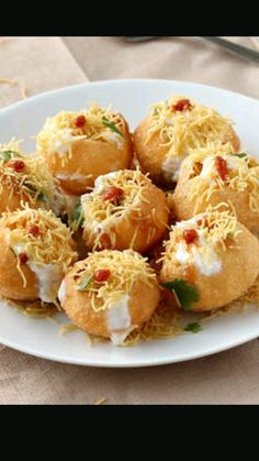 Spicy dahi Puri