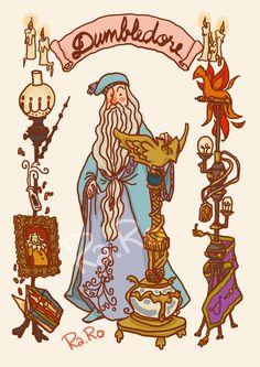 Dumbledore by RaRo81.deviantart.com on @DeviantArt
