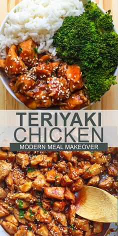 If you love quick, easy, and delicious family dinners for your busy week nights, then look no further!! This teriyaki chicken rice bowl is made up of tender juicy chicken, homemade teriyaki sauce, and fresh vegetables. It's easy to make and will be ready in less than 30 minutes. Healthy Chicken Recipes, Asian Recipes, Cooking Recipes, Easy Chicken Dishes, Chicken Dishes For Dinner, Chicken Recepies, Easy Chicken And Rice, Chicken Rice Bowls, Asian Dinner Recipes