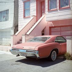 Pink Vintage Travel