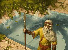 Game of Thrones - Water Gardens - Fantasy Flight by Rilez75