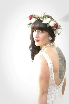 Love how our Big Sur bride incorporated this gorgeous flower crown into her bridal ensemble. Wedding Flowers, Wedding Dresses, Big Sur, Flower Crown, Perfect Wedding, Flower Girl Dresses, California, Bride, Fashion