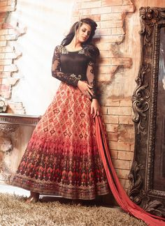 Buy Now Regal Print Work Multi Colour Designer Floor Length Suit . More Collection Of Wedding Partywear Designer Salwar Kammez On Offloo #designersuit #partywearsuit #suit #weddingsuit #heavysuit #buyonline #onlinesalwarsuit #onlinesuit #bestsuit #designersuit #offloo http://offloo.com/salwar-kameez/