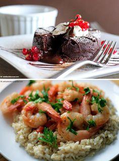 Lava Cake și Salată cu orez și fructe de mare! Yummi ^_^ Află cum se prepară! >> https://issuu.com/performance-rau/docs/nr-51-apr-2016/32  #cooking #retete #RevistaPerformance