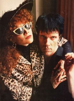 Poison Ivy and Lux Interior, 1990.