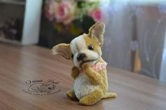 puppy Chihuahua Buffy By Irina Fedi - Bear Pile