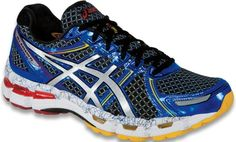 """The #ASICS GEL-Kayano 19: The 19th version of the GEL-Kayano series takes a """"stop at never"""" approach by improving upon its award winning ride, comfort, and fit. #ASICS' flagship Structured Cushioning model drops over a half ounce in weight, thanks to top-of-the-line features like Heel Clutching System™ and Dynamic DuoMax. This legend's upper fit also receives special attention with strategically placed seamless overlay construction making the GEL-Kayano 19 the best in its history."""