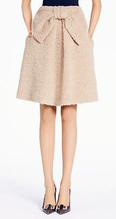 Cute bow skirt by kate spade