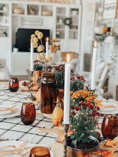 All Thrifted Fall Tablescape – Uniquely Taylor Made Thanksgiving Tablescapes, Thanksgiving Decorations, Seasonal Decor, Holiday Decor, Autumn Decorations, Hosting Thanksgiving, Thanksgiving Table Settings, Fall Home Decor, Autumn Home