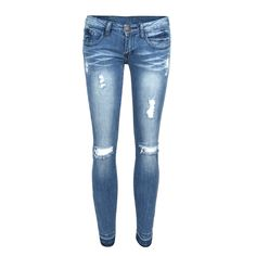 Cropped Ankle Skinny Jeans – 2020AVE
