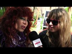 Deap Vally interview with VEVO at TGE13