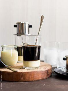Traditional Vietnamese Iced Coffee (Ca Phe Sua Da)