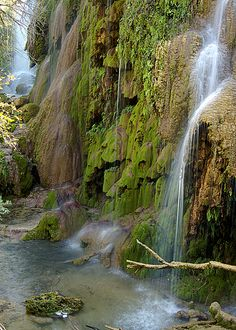 Gorman Falls, Colorado Bend State Park, Texas