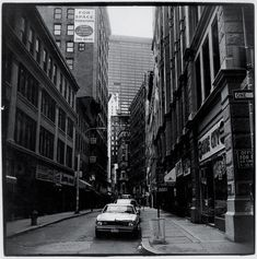 """Peter Hujar, """"Nassau Street,"""" 1975. From Why Can't We Stop Talking About New York in the Late 1970s? - The New York Times"""