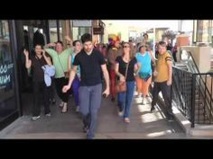 Dance Walking - We Dance Walked with Ben Aaron Ben Aaron LXTV NBC. So much fun getting a group of people together with no other purpose other than dance walking.