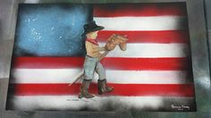 Rodeo Kid Spray Paint Art by Beautiful Rendition : Customized Spray Paint Creations