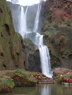 Ouzoud Waterfalls in Morocco, January 2012