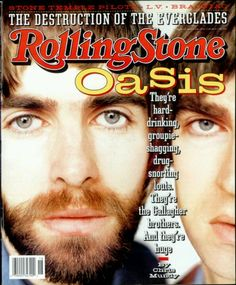 Oasis article on Rolling Stone mag