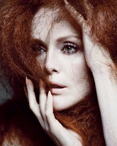'The Fairest of Them All' - Julianne Moore by Inez and Vinoodh for T Magazine, Spring 2013.