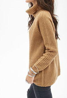 Ribbed Turtleneck Sweater | Forever 21 - 2000067099