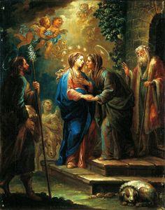 LECTIO DIVINA: Evangelio del Domingo IV de Adviento, ciclo C, 23 de diciembre de 2012  Lc 1, 39-45  «Enviad cielos vuestro rocío»