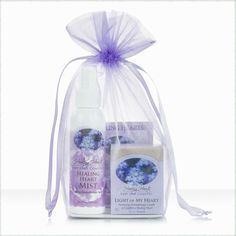 Healing Hearts Comfort Kit is a caring bereavement baby loss gift for a grieving mother. Filled with natural herbal products to soothe an aching body and heart.