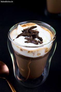 Heiße Schokolade mit