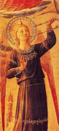 Fra Angelico (1387-1455) 'Detail from the Alterpiece Pala dei Linaioli'...