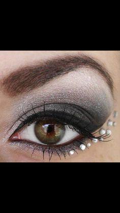 Gray eyeshadow Gray Eyeshadow, Grey, Grey Eyeshadow, Gray