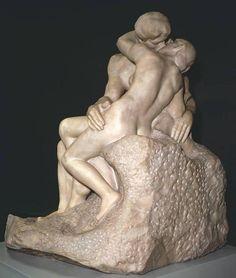 Auguste Rodin. The Kiss (Le Baiser) 1901-1904.Pentelican...