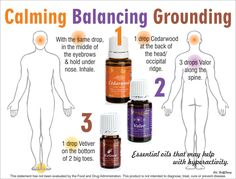 Young Living Essential Oils: Calming, Balancing, Grounding