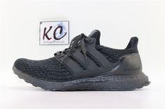"0389d37821d Adidas Ultra Boost 3.0 ""All Black"" BA8920 All Black"