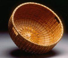 Round Harvest Basket by Deborah Smith