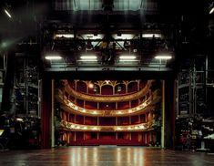 'The Fourth Wall' Haunting Photos of Empty Stages Taken From An Actor's Point of View