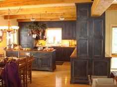 Lbgb Home Beautiful Blue Cupboards Cee Rafuse Old House Decorating