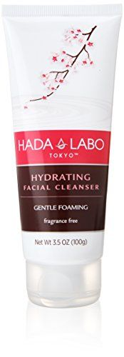 Hada Labo Tokyo Gentle Hydrating Cleanser 5 Oz - with Hyaluronic Acid cream facial wash non-drying free from fragrance parabens alcohol mineral oil and dyes (Packaging May Vary) Dewy Skin, Happy Skin, Facial Skin Care, Mineral Oil, Face Cleanser, Best Face Products, Tokyo, Moisturizer, Fragrance