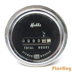 For Sale: Hobbs Engine Hour Meter M-5601 4-50 Volt Dc Stewart Warner
