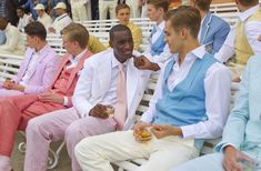 Pastel suiting