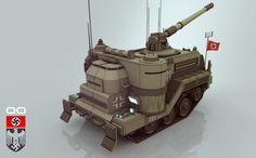 ArtStation - Nazi Tank, Alan Quiroz