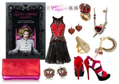 Book Looks: The Queen of Zombie Hearts by Gena Showalter http://myfashionobsessedlookbook.blogspot.com/2014/02/book-looks-42-queen-of-zombie-hearts-by.html