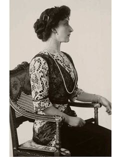 Her Majesty Queen Maud of Norway, née Her Royal Highness Princess Maud of Wales. Queen Maud 1914 (Photo: Ernest Rude, The Royal Court Photo Archive)