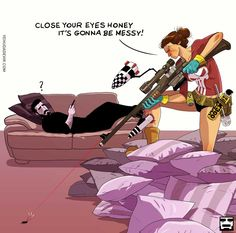http://www.boredpanda.com/relationship-illustrations-yehuda-devir/ This goes both ways!
